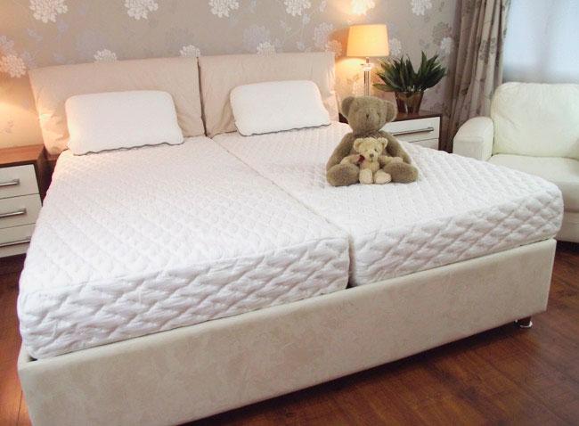 2 матраса для одной кровати