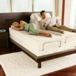 Интересный вариант кровати, с ортопедическим матрасом