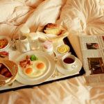 Не стоит кушать в постели