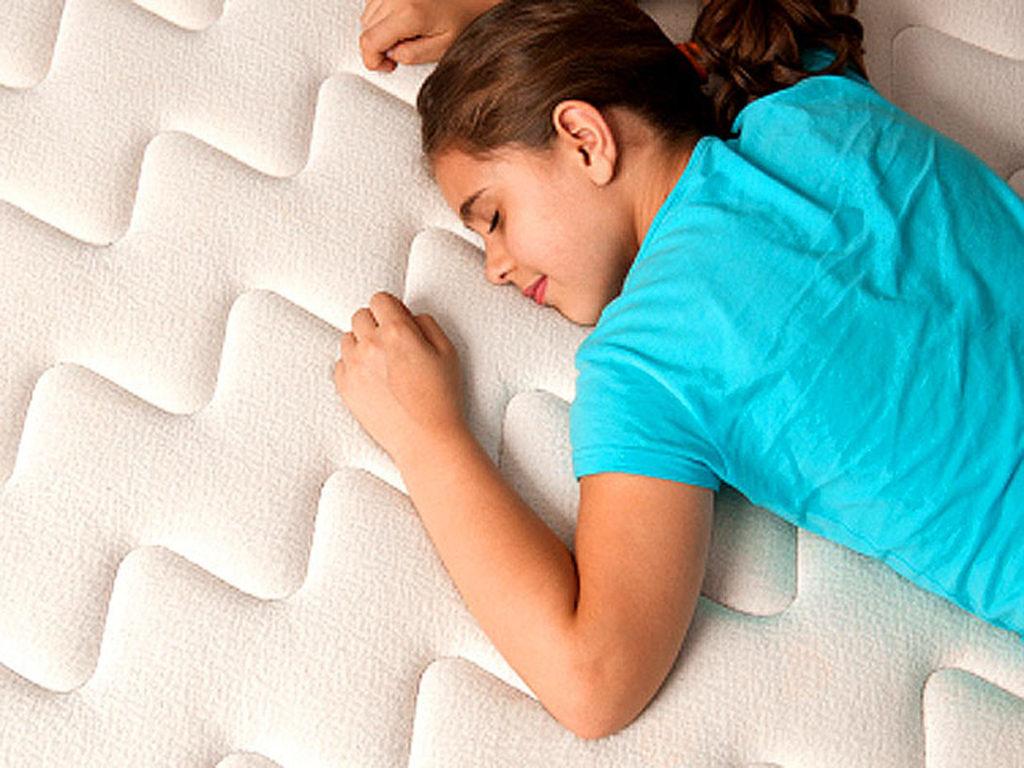 фото сна на латексном матрасе