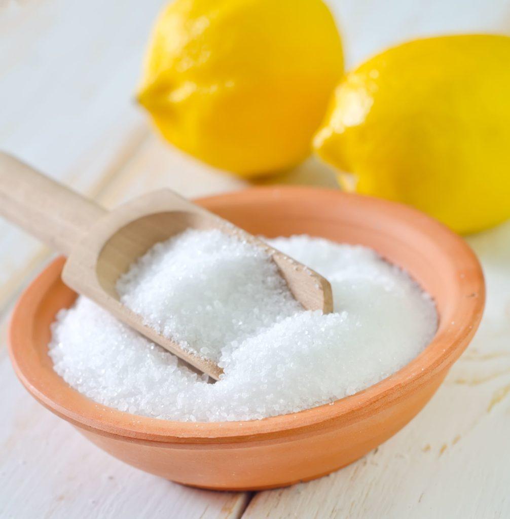 лимонная кислота и соль