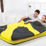 надувной спальный мешок