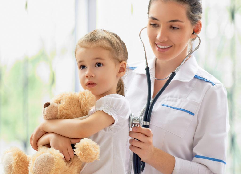 Врач и Пациент Ребенок