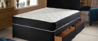 Выбор ортопедического матраса для двуспальной кровати