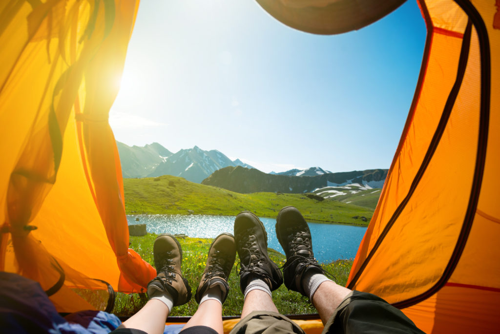 Матрас для похода в палатку