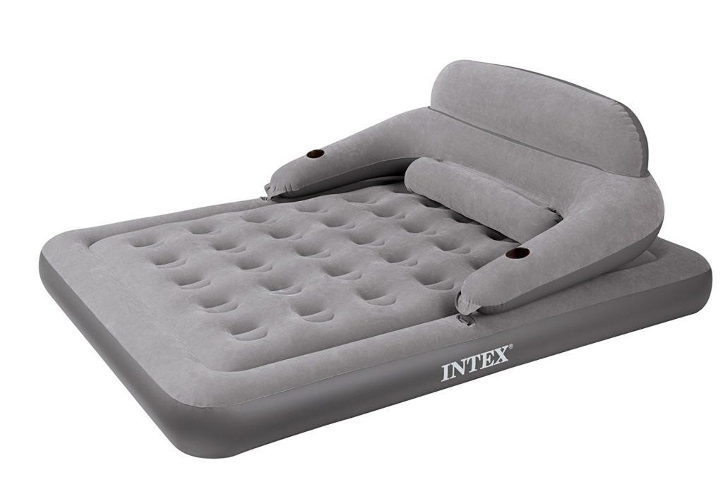 Надувной диван со спинкой