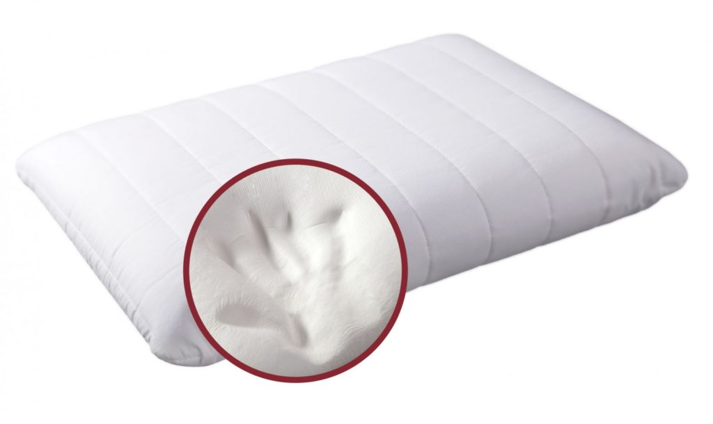 Подушка с эффектом памяти фотография