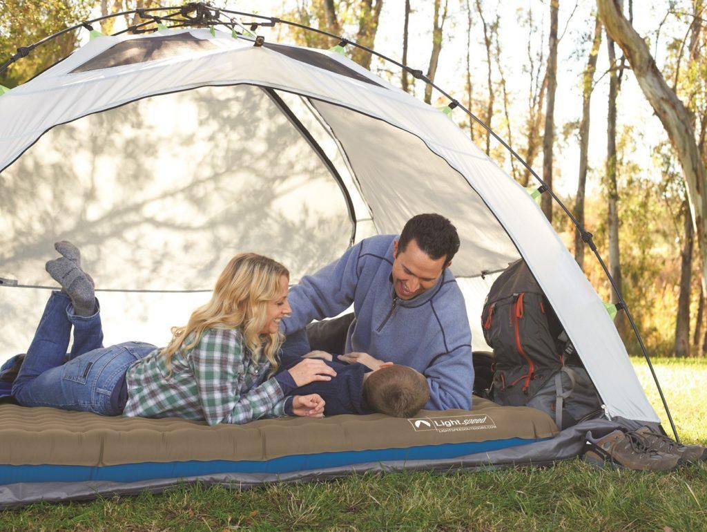 Туристический матрас в палатку фото