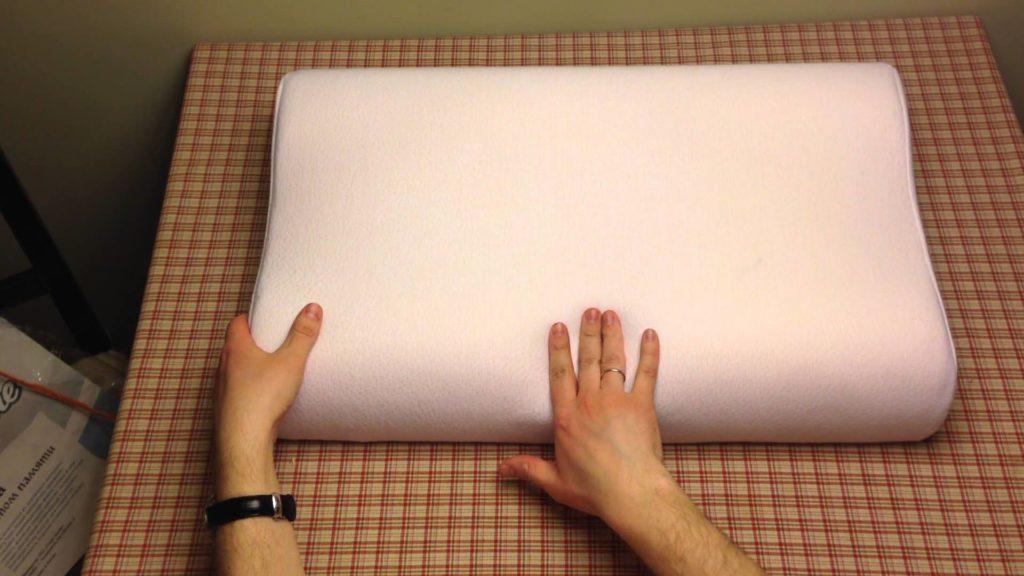 подушка memory foam фото
