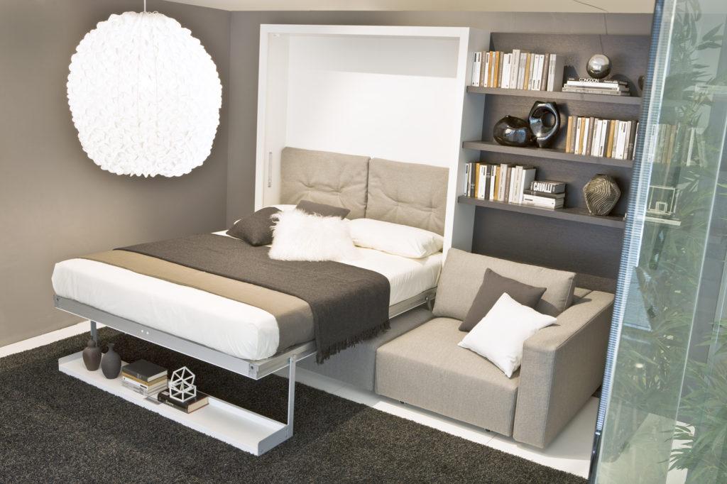 Стенка трансформер с кроватью