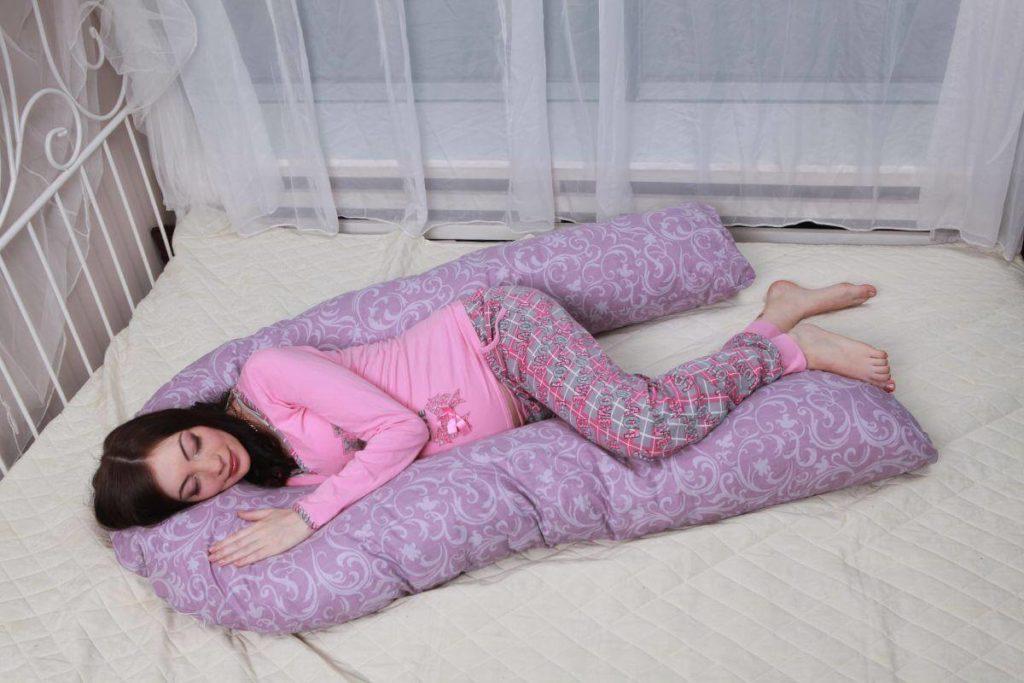 U образная подушка