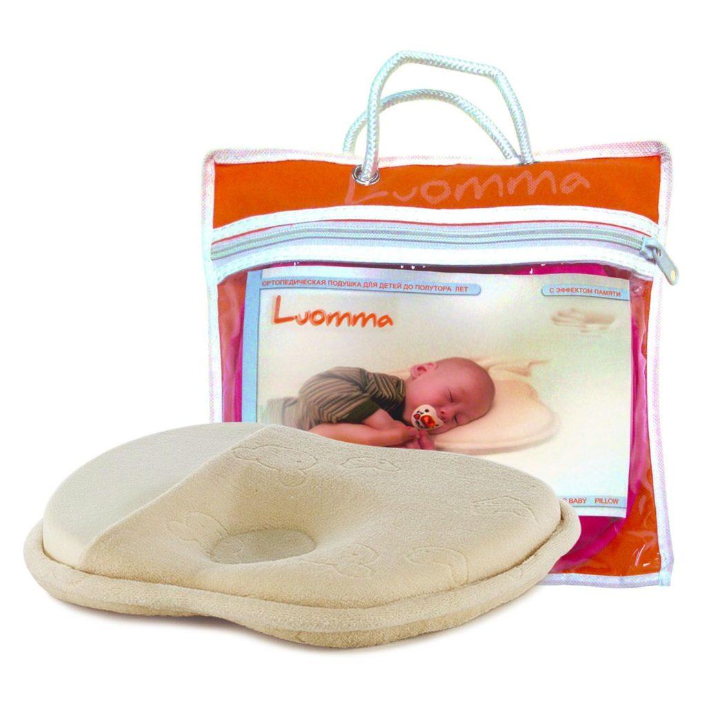 Детская анатомическая подушка