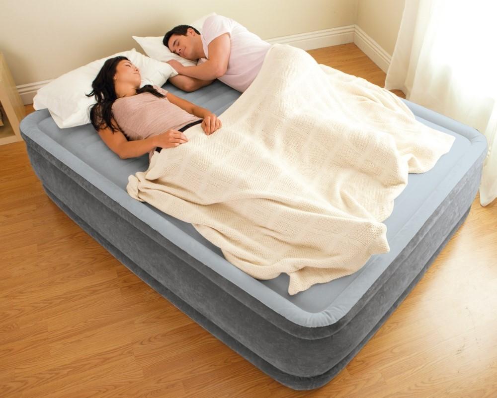 Надувная кровать Интекс