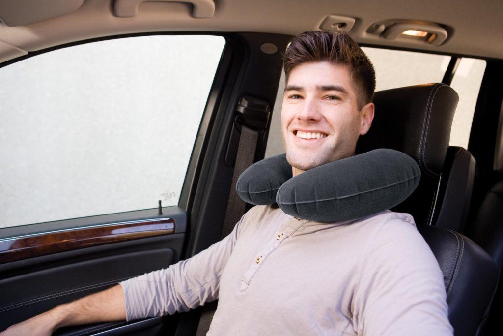 Надувная подушка для шеи
