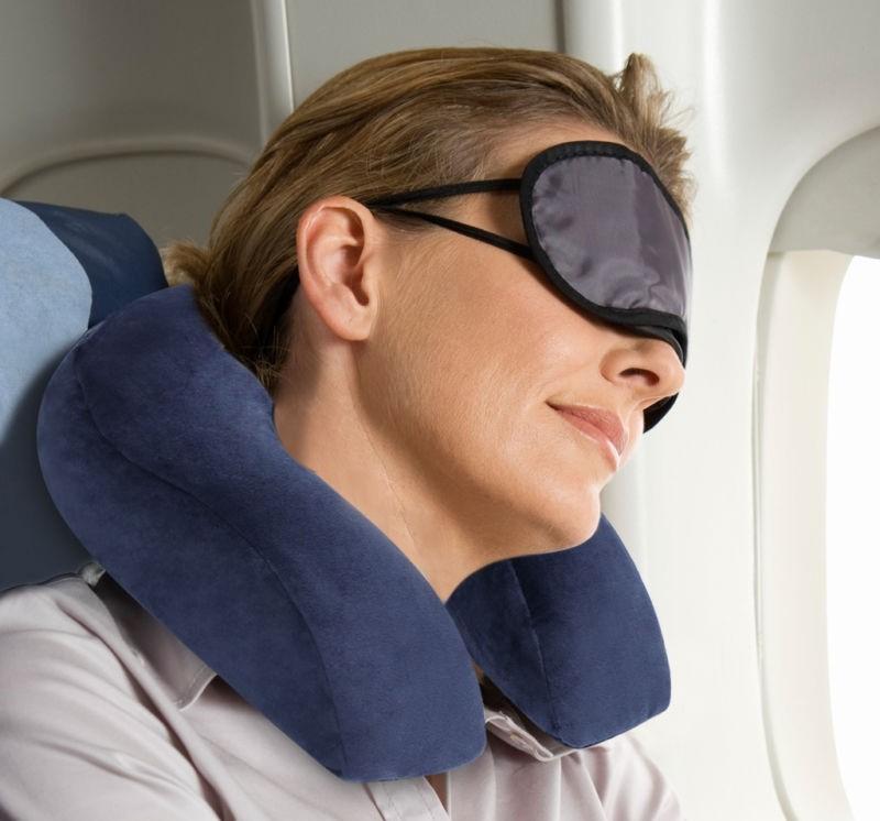 Надувная подушка для шеи фотография