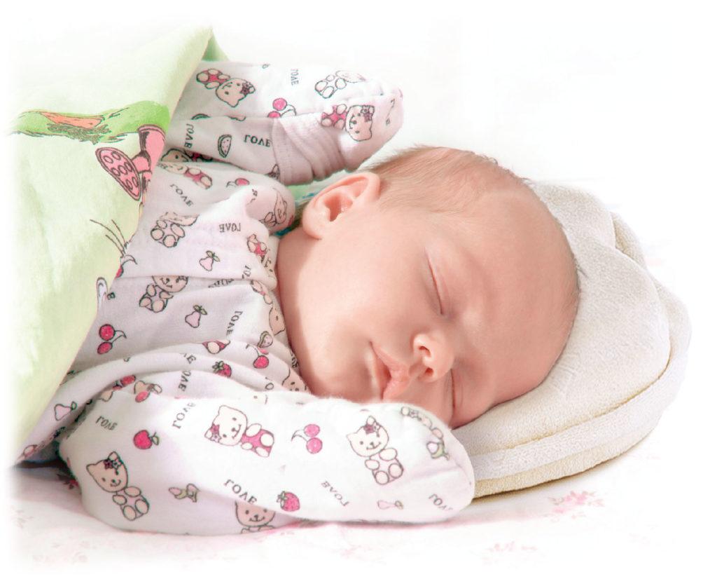 Ортопедическая подушка для грудничков фото