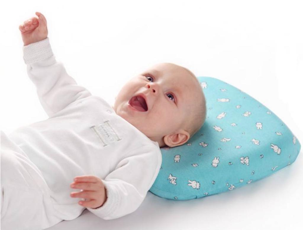 Ортопедические подушки для новорожденного