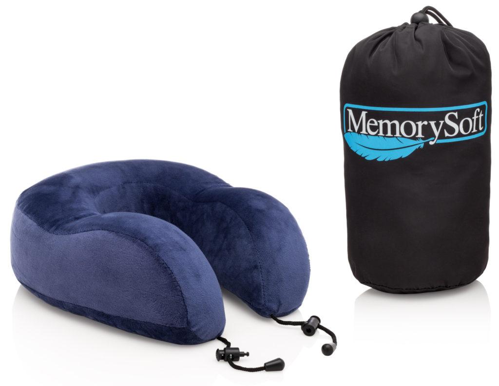 Подушка Memory Foam для путешествий