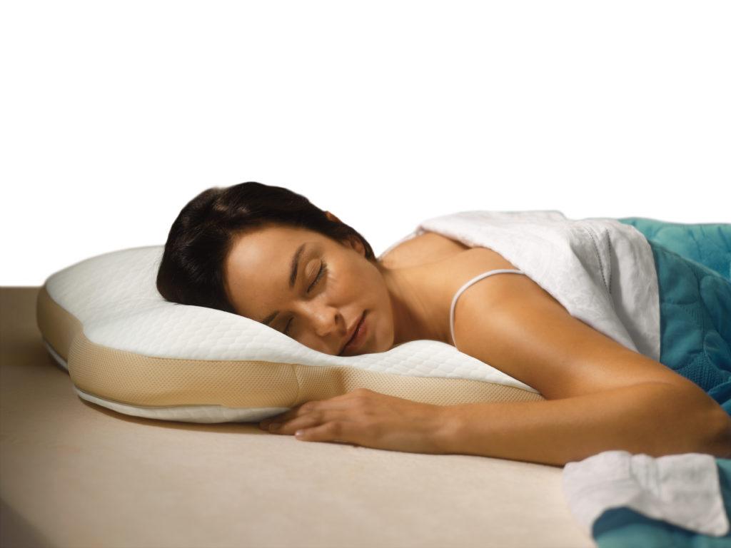 Подушка для спящих на животе