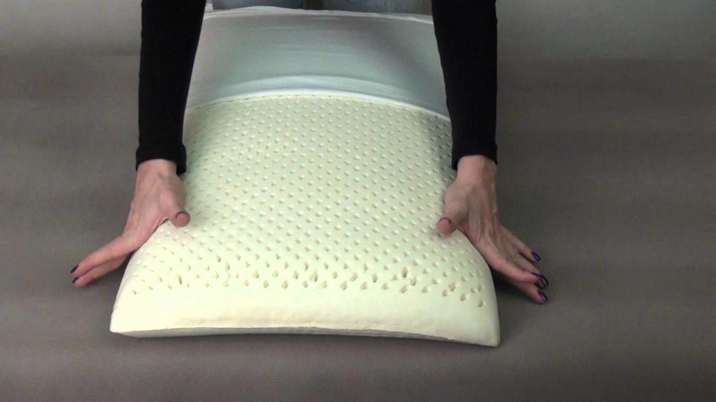 Разновидности латексных подушек фото