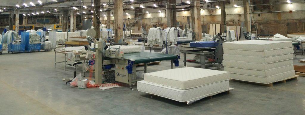Завод производства матрасов фото