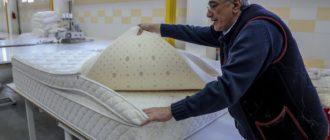 Изготовление матрасов