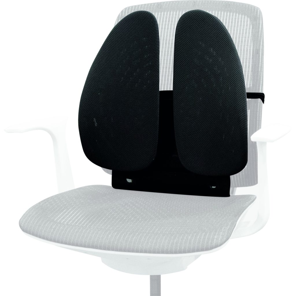 Ортопедическая подушка под спину на кресло фото