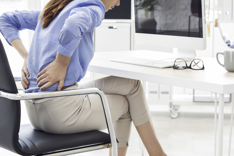 Ортопедическая подушка под спину на стул