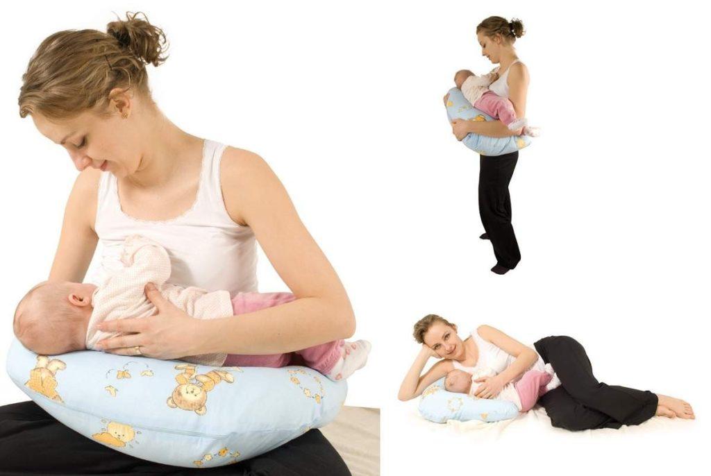 Подушка для кормления ребенка фото