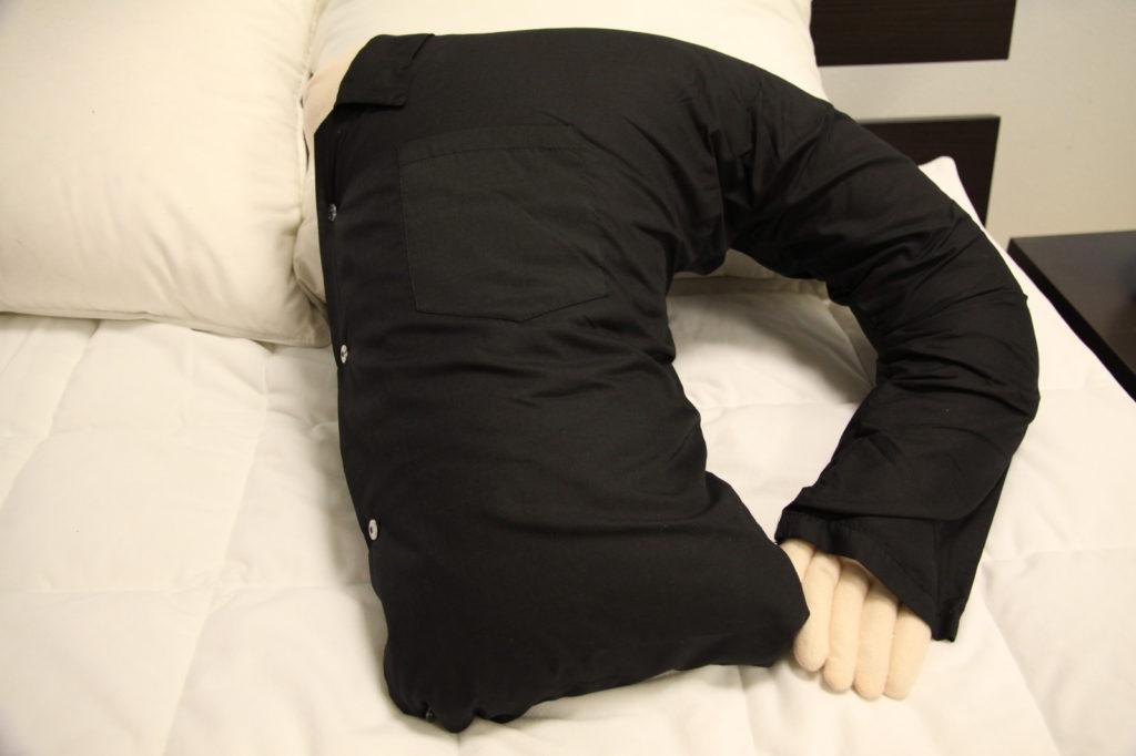 Подушка для обнимания мужская рука