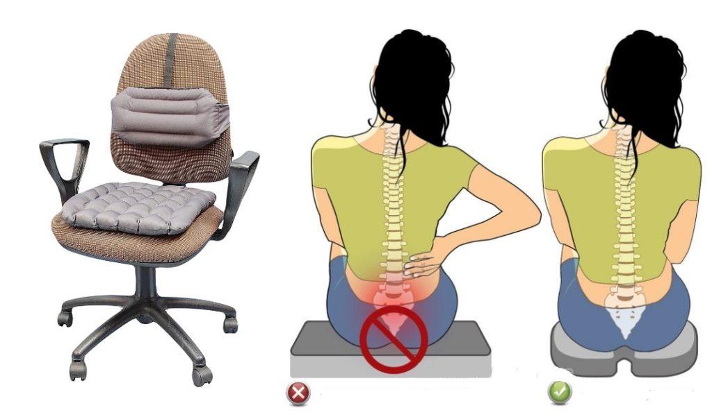 подушка на стул ортопедическая