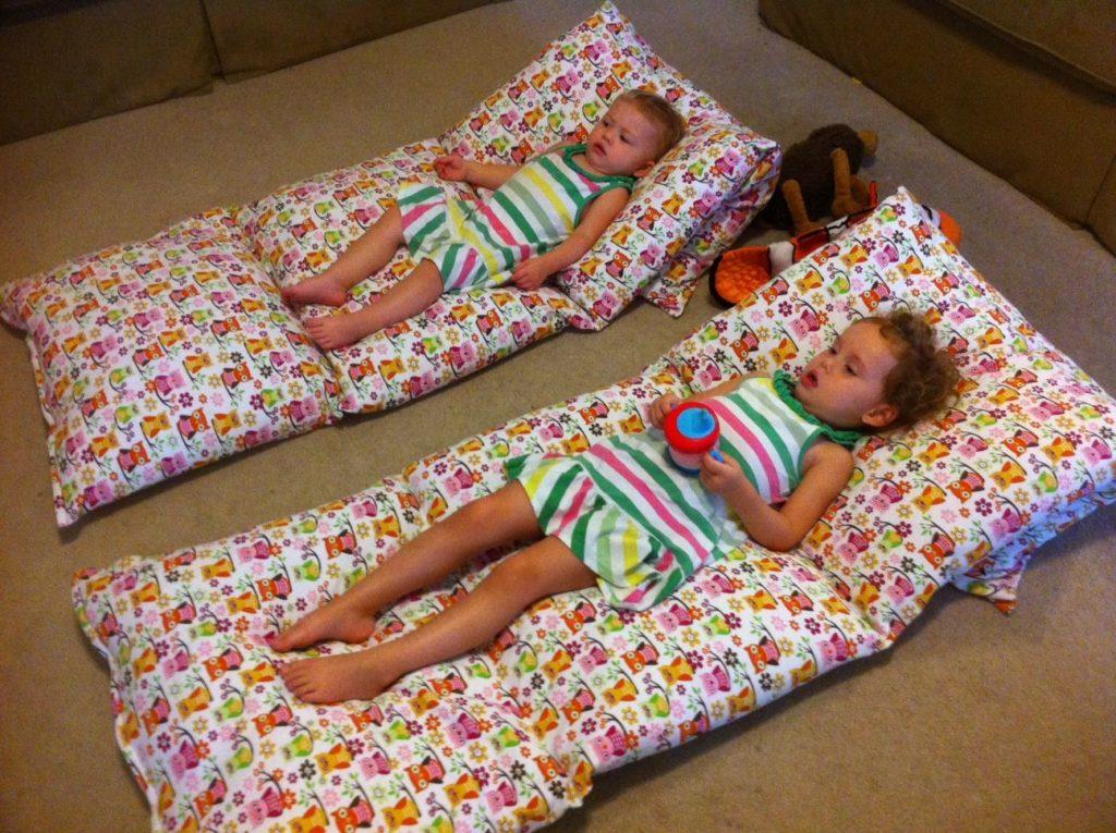 подушки в матрасе