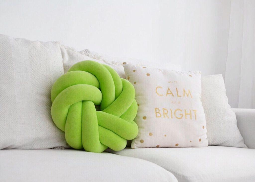 Интерьерные подушки узлы
