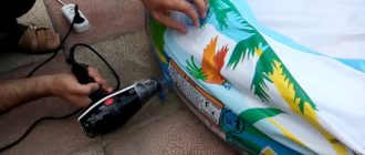 Как накачать матрас без насоса