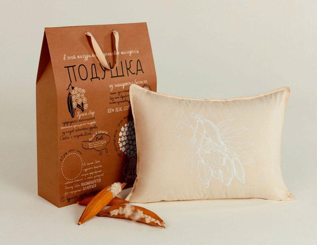 Капок подушка
