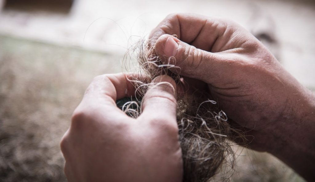 Конский волос материал