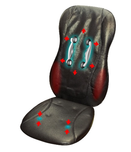 Массажные накидки на кресло
