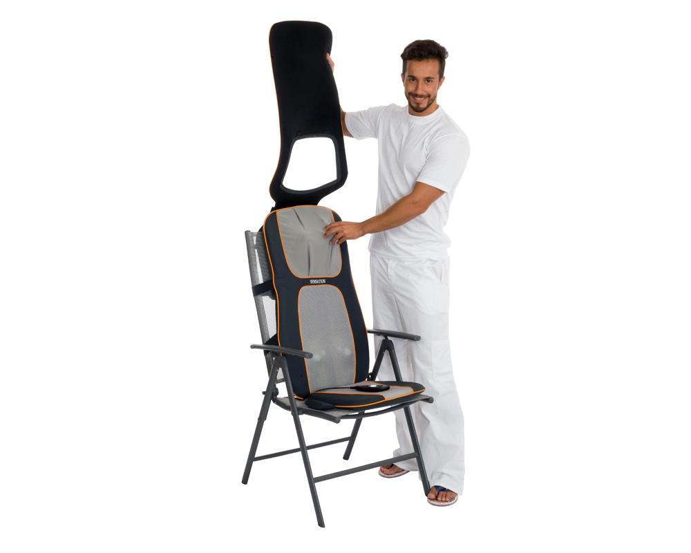 Накидка массажер на кресло фото