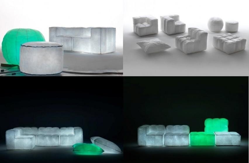 Подушки с подсветкой