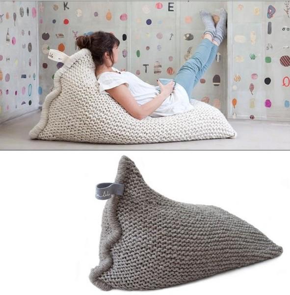 Подушки-шезлонги фото