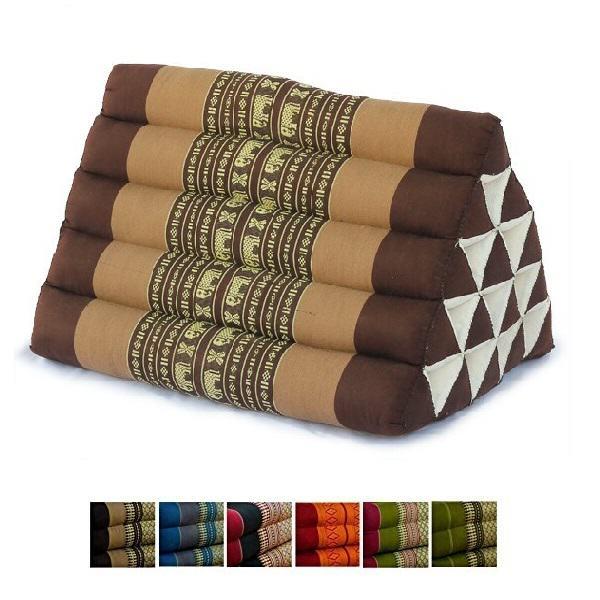 Треугольная тайская подушка варианты