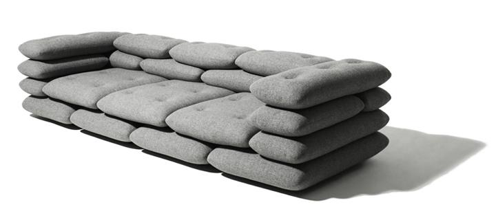 диван из подушек