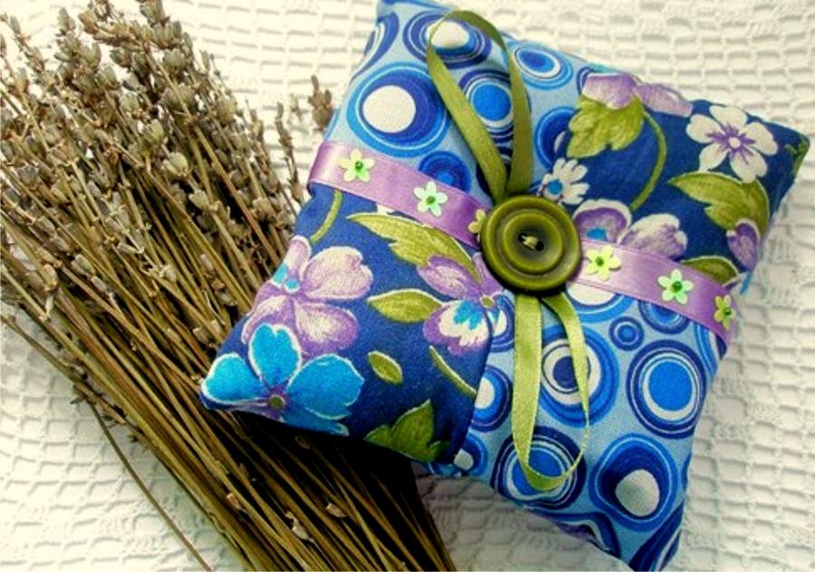 использование подушки