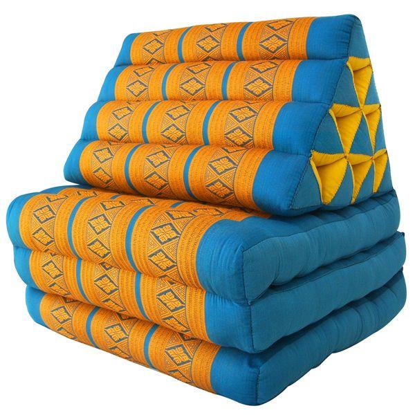 тайская треугольная подушка фото подушки