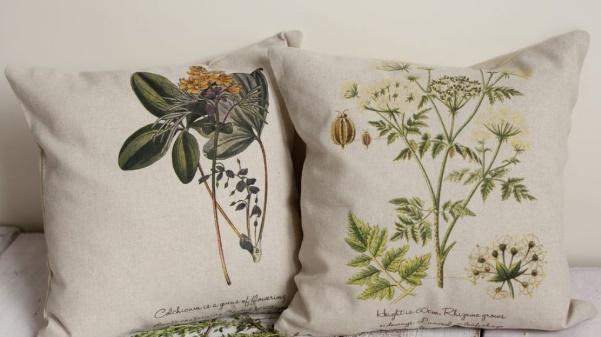 травяные подушки