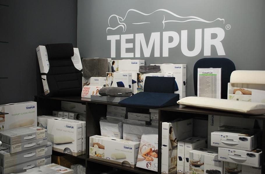 Ассортимент компании TEMPUR
