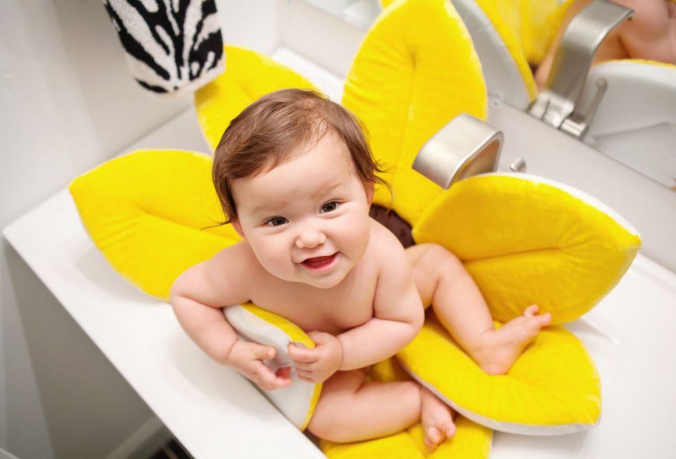 Плюшевый матрасик-ванна фото