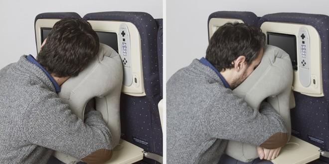 Woollip — надувная подушка для путешествий фото