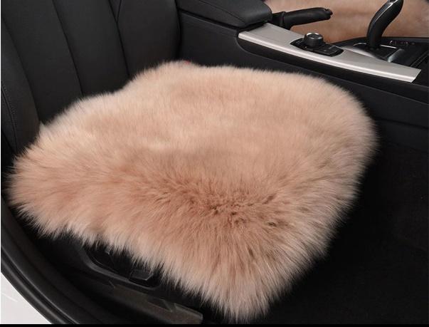 Зимняя подушка в автомобиль