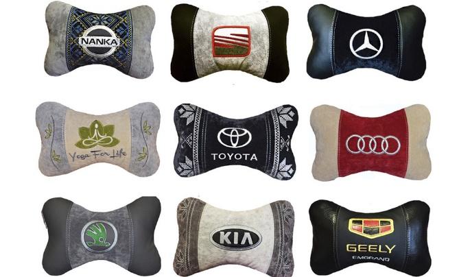декоративные подушки для авто